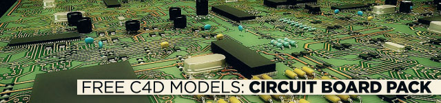 Free C4d Circuit Board Generator Pack From Remco The Pixel Lab