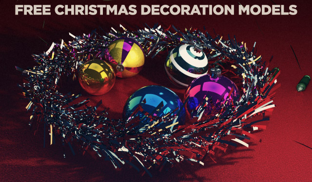 Christmas Decoration 3d Model Free Download