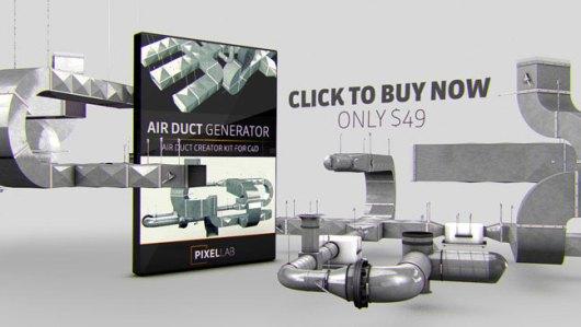 C4D-3D-Air-Duct-Generator-6