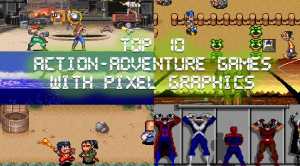 Top 10 Retro Action Adventure Games with Pixel Graphics
