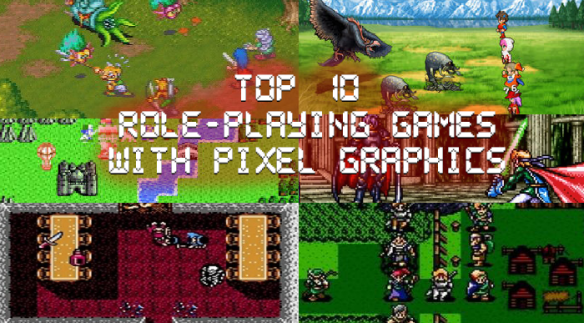 Top 10 Retro Role-Playing Games