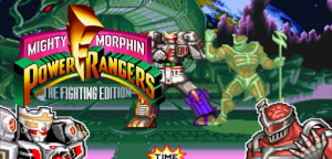 Mighty Morphin Power Rangers The Fighting Edition