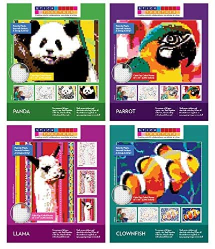 StickTogether - Sticker Mosaic Puzzle Poster Kits