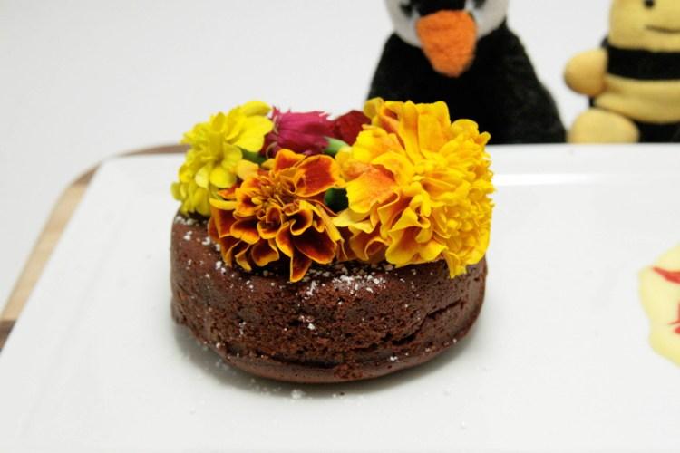 Lava Cake Closeup