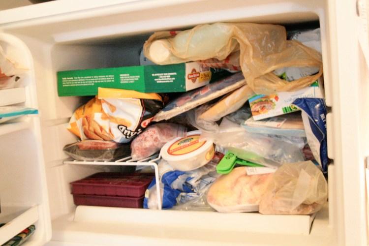 Granita Freezer Mess