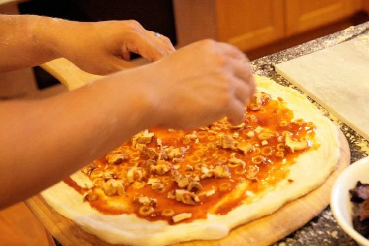 Pizza Flavored Pizza Derrick Assemble