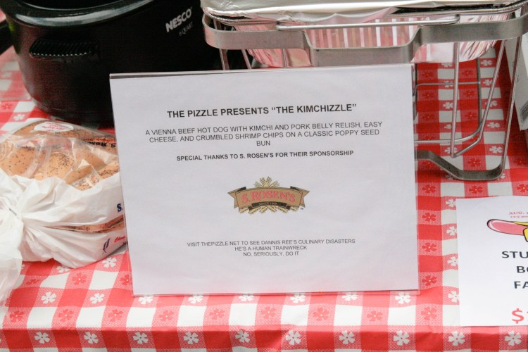Pizzle Table Sign