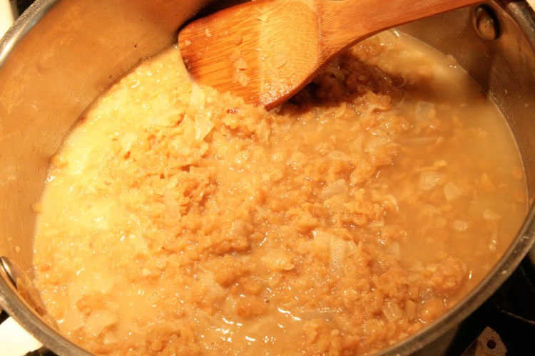 Rice Krispie Risotto Reduce