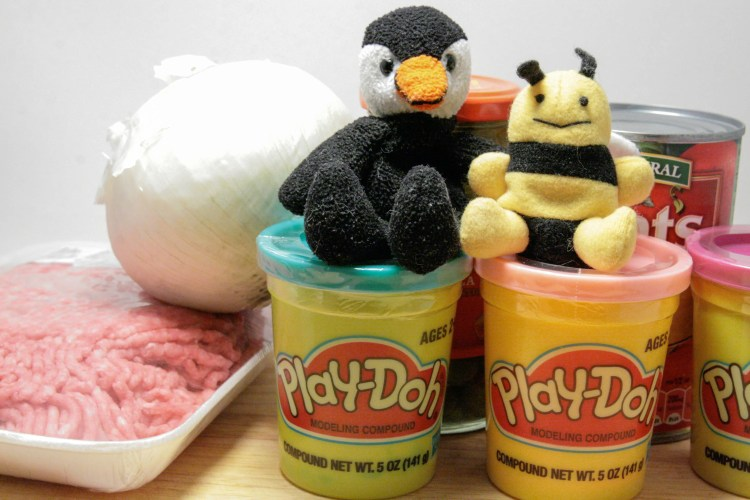 Play Doh Empanadas Ingredients