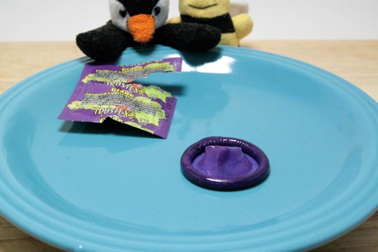 Condom Taste Test Grape