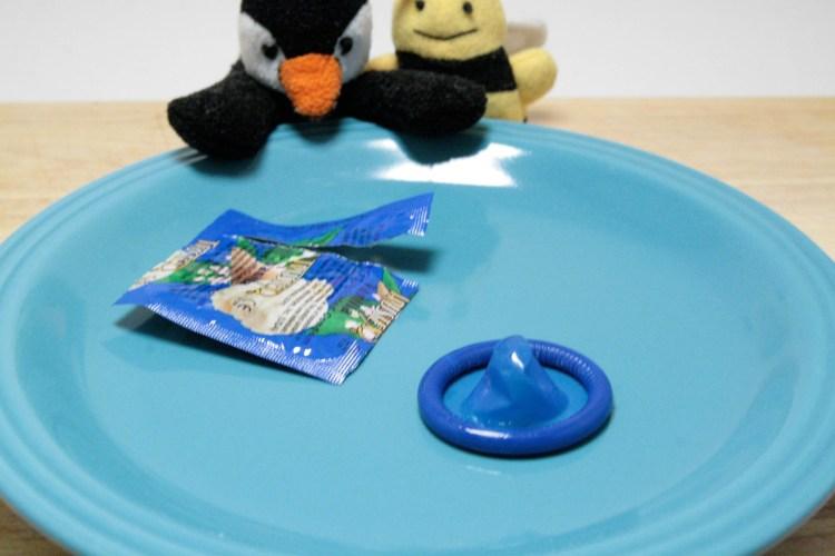 Condom Taste Test Vanilla