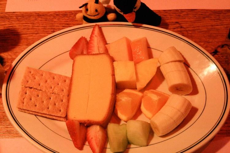 Fondue Stube Dessert Plate