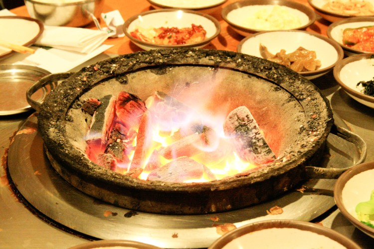 Korean BBQ Fire Pit