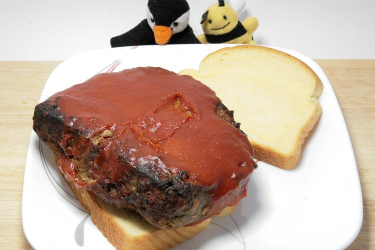 Trump Meatloaf Sandwich