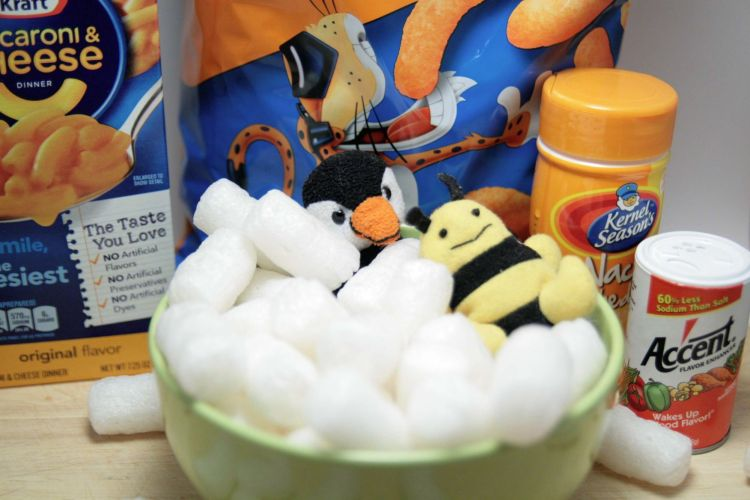 Packing Peanut Cheetos Ingredients