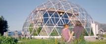 Solar Geodesic Dome House