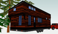 Floor plans for your tiny house on wheels (photos)