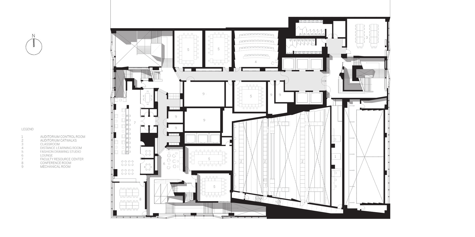 University Center, The New School by Skidmore, Owings