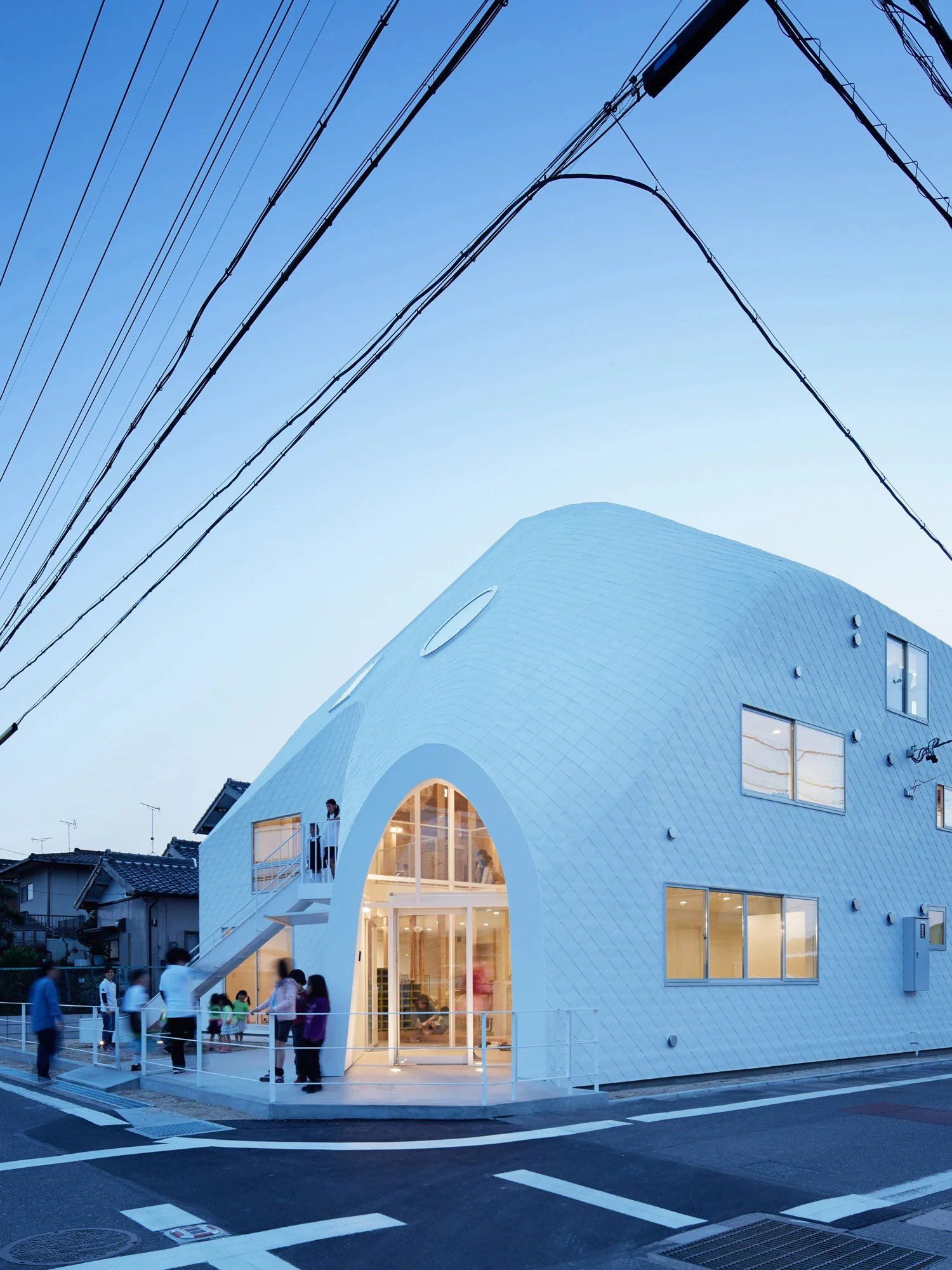 MAD Architects Clover House Kindergarten