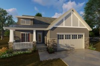 2 Bedroom Craftsman House Plans