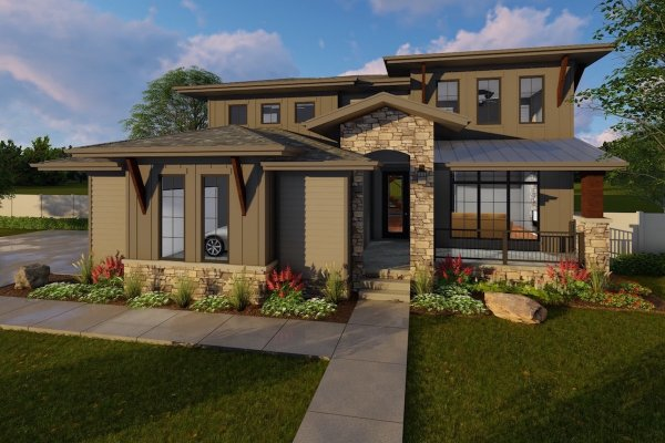 4 Bedrm 3156 Sq Ft Luxury House Plan #100-1214