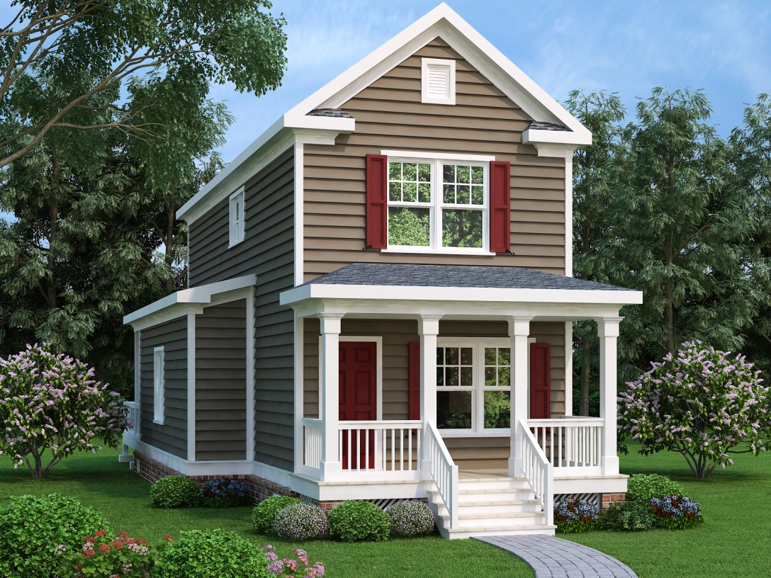 Craftsman House Plan #104