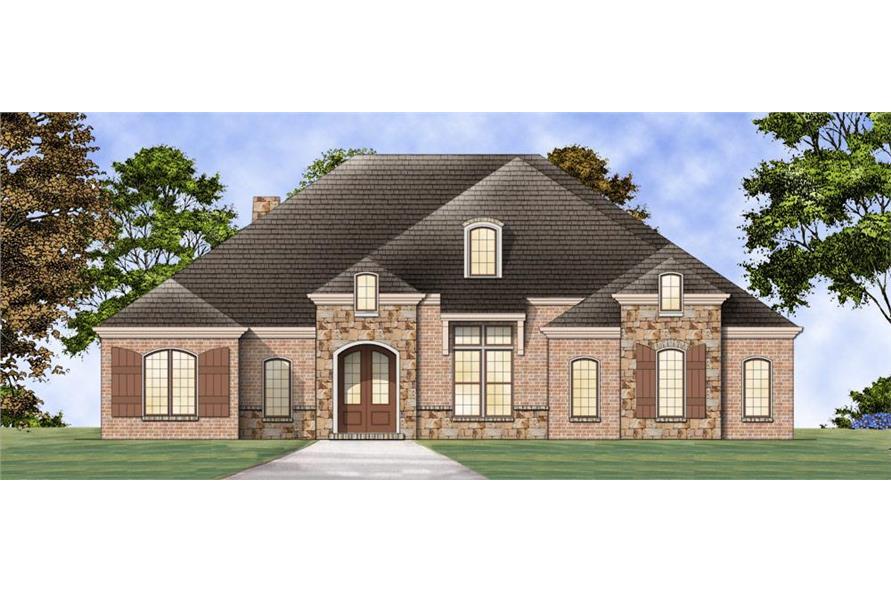 Texas Ranch House Designs