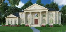 Colonial Mansion House Plans
