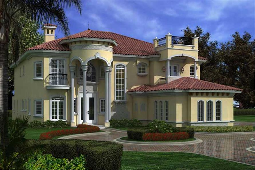 Luxury Home With 6 Bdrms 6784 Sq Ft House Plan 107 1033