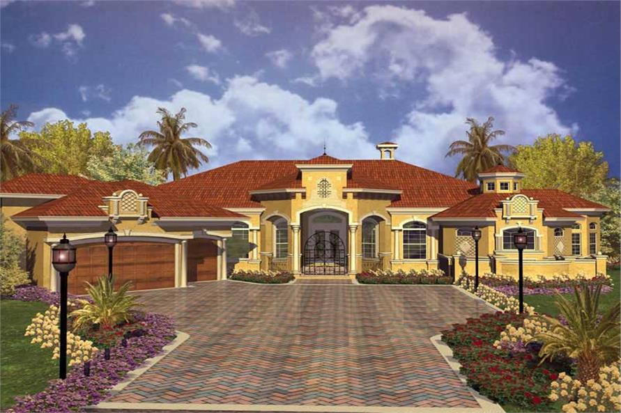 Concrete BlockICF Home with 4 Bdrms 5498 Sq Ft  House