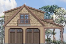 Garage Withapartments With 2-car 0 Bedrm 746 Sq Ft Plan