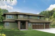 Prairie Style Homes House Plans