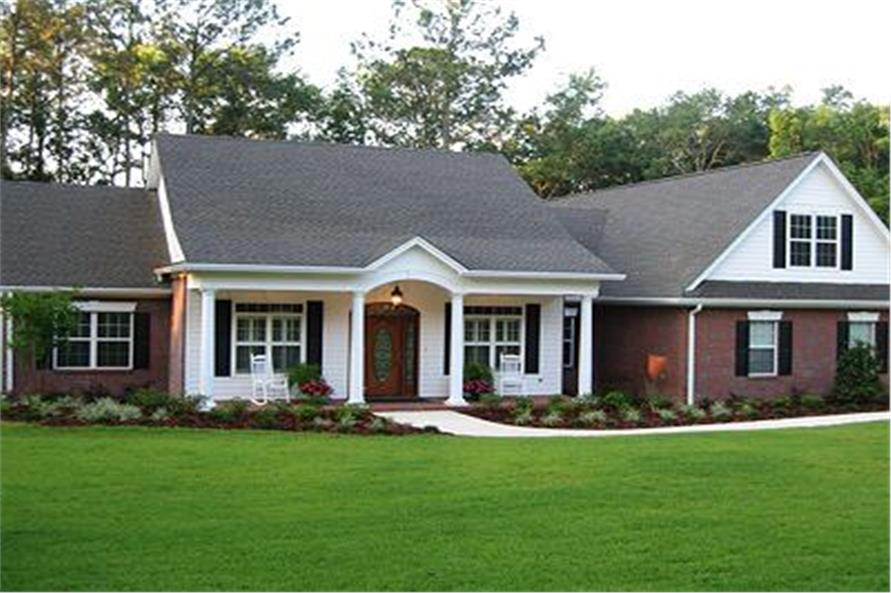 Brick Ranch Home Exterior Makeovers
