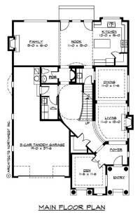Tudor House Plans - Home Design CD 3455C # 9299