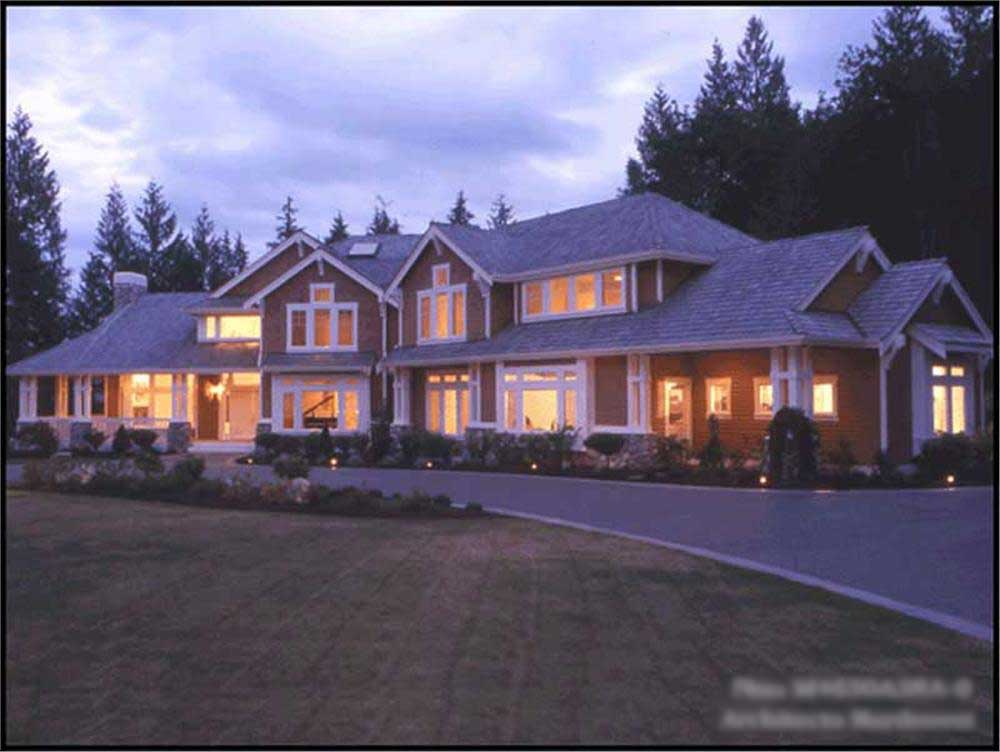 Craftsman Luxury House Plans Home Design Cd 4650a 9360