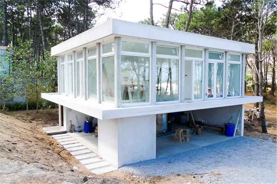 Concrete Block ICF DesignModernHouse Plans  Home