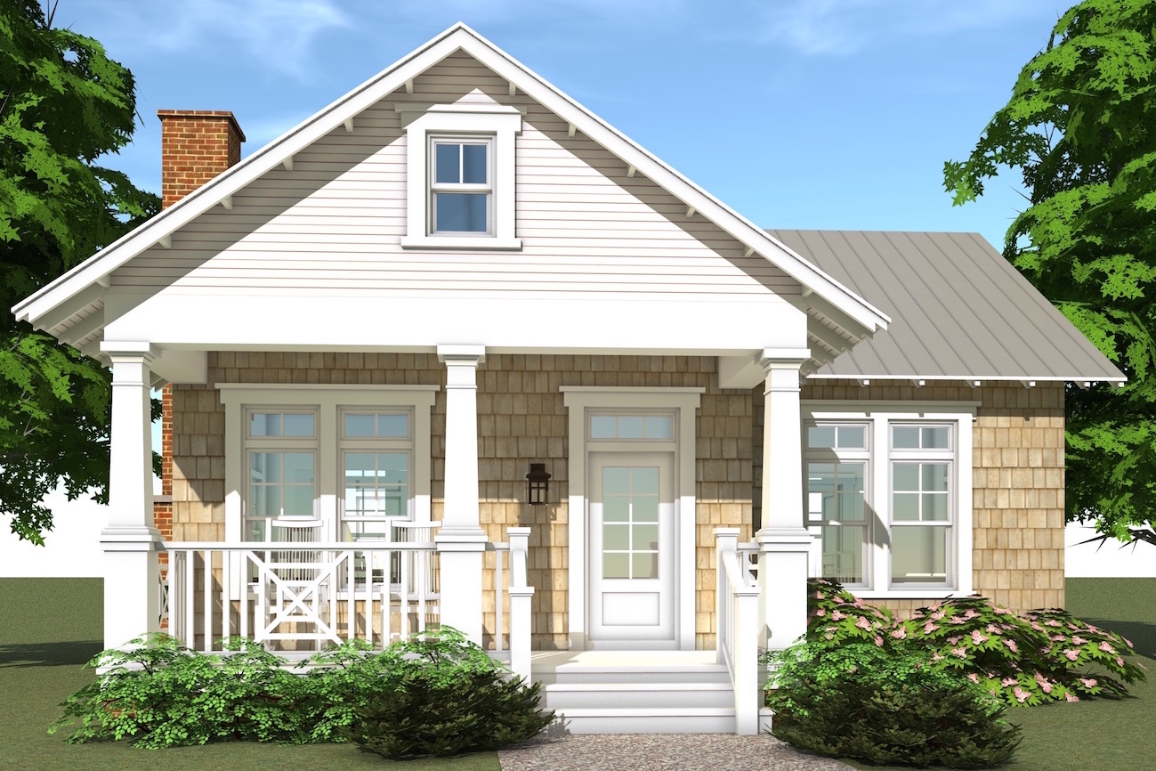 Beachfront House Plan 1161103 1 Bedrm 841 Sq Ft Home  ThePlanCollection