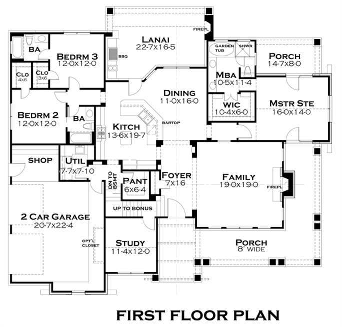 Case Study House 22 Floor Plan