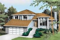 Bi Level House Plans With Attached Garage