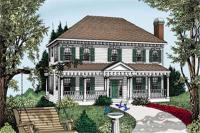 Hip Roof Colonial House Plans - Escortsea