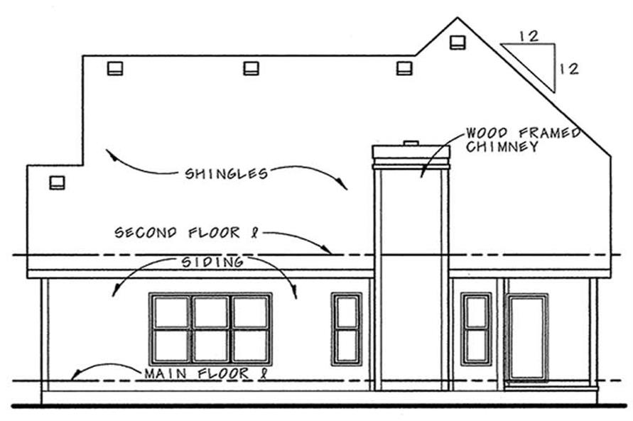 House Plan #120-1078 : 3 Bedroom, 1905 Sq Ft Country