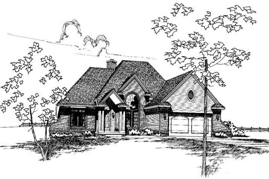 House Plan #120-1156 : 3 Bedroom, 1911 Sq Ft Ranch