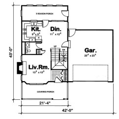Fujitsu Ten 86100 Wiring Diagram Three Way Switch Two Lights Country House Plan 3 Bedrms 2 5 Baths Auto Electrical