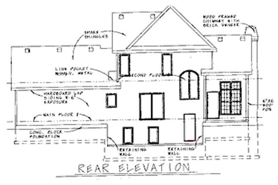 House Plan #120-1930 : 3 Bedroom, 1706 Sq Ft European