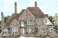 House Plan #120-2164 : 4 Bedroom, 4268 Sq Ft Cape Cod ...