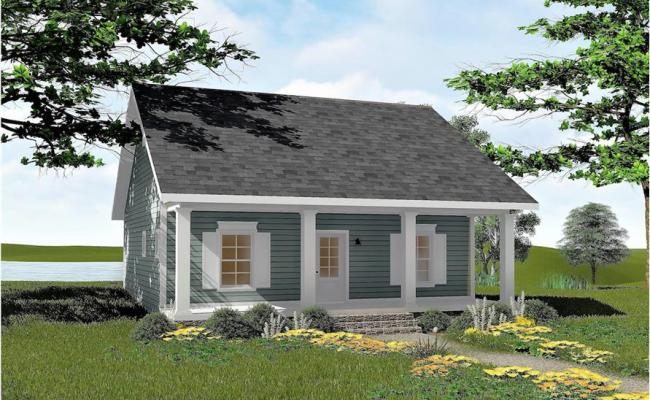 2 Bedrm 992 Sq Ft Small House Plans House Plan 123 1042