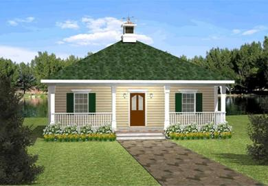Country Home Design 123 The Plan Collection