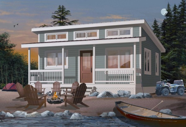 Small Vacation Home Plans Tiny House - Design