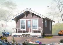 Small Home Plans - Design Dd-1902