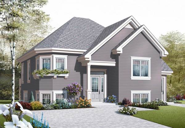 traditional house plans - home
